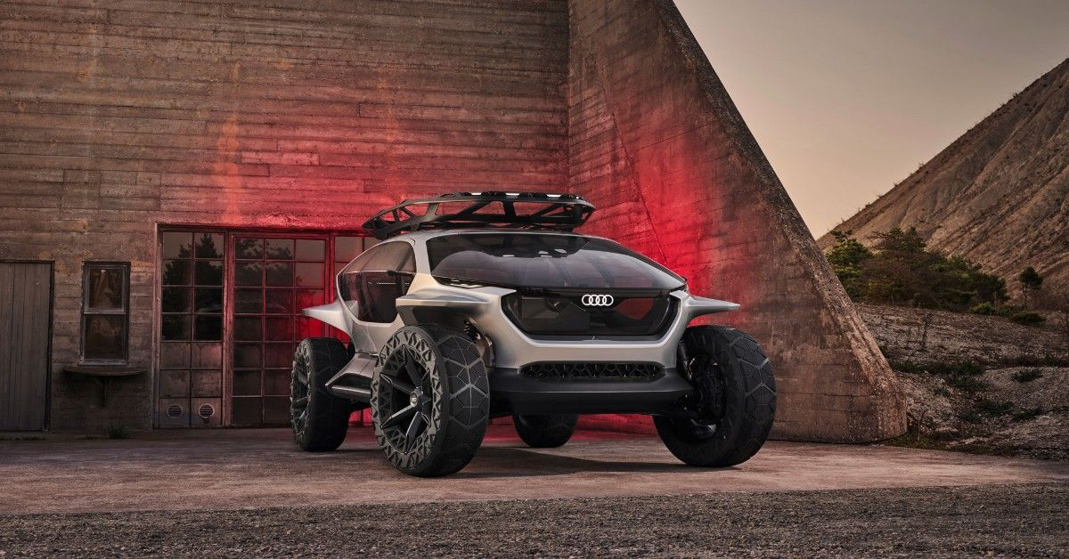 The Audi AI:TRAIL Concept Is The Future Of Off-Roading | HotCars