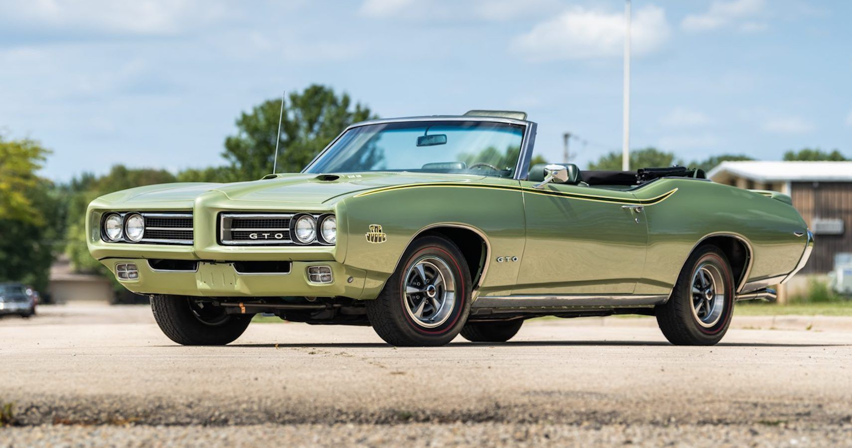Bring A Trailer: This 1969 Pontiac GTO Judge Convertible Will Make You Green With Envy