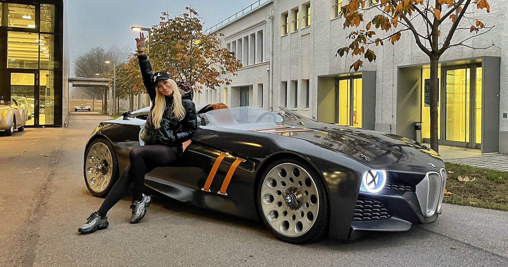 Supercar Blondie Catches A Whiff Of The 30s With A Beautiful 2011 BMW328 Hommage