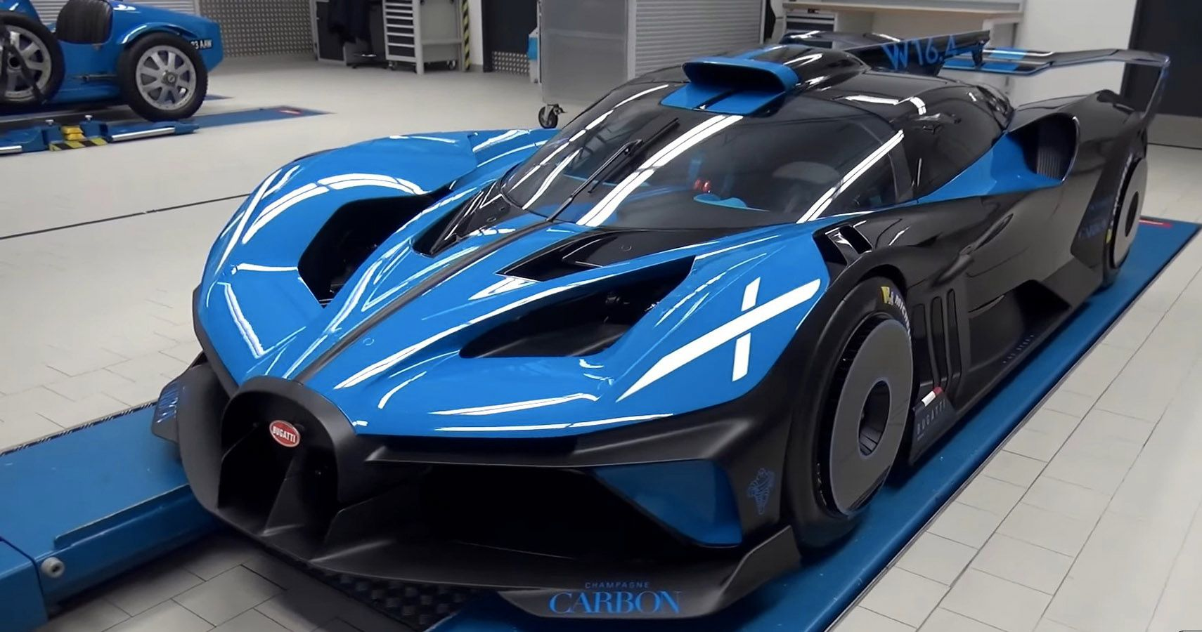 Bugatti Claims New Bolide Hypercar Will Smash 300 MPH Record