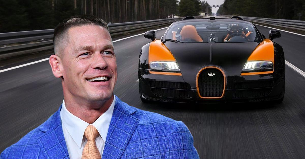 This Is What Makes The 2012 Bugatti Veyron 16.4 Grand Sport Vitesse John Cena's Favorite Car