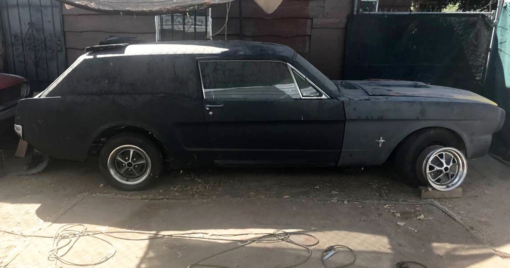This Bizarre Mustang Station Wagon Project On Craigslist Is A Serious Head-Scratcher