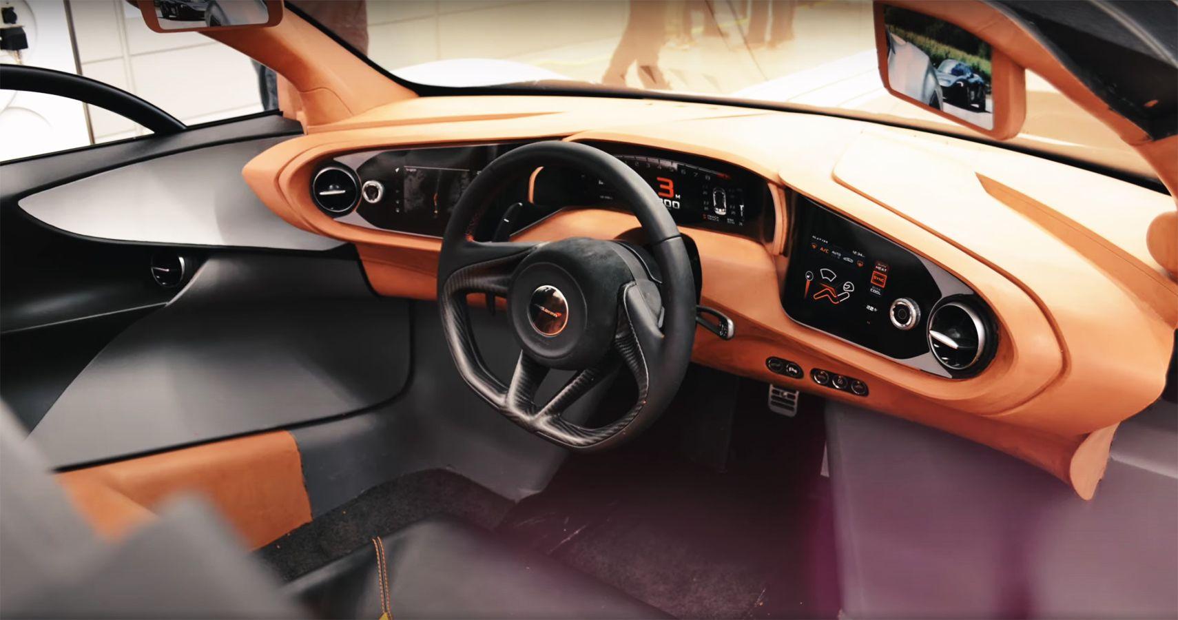 Watch McLaren's Senior Designer Detail How Speedtail's Three-Person Interior Was Created