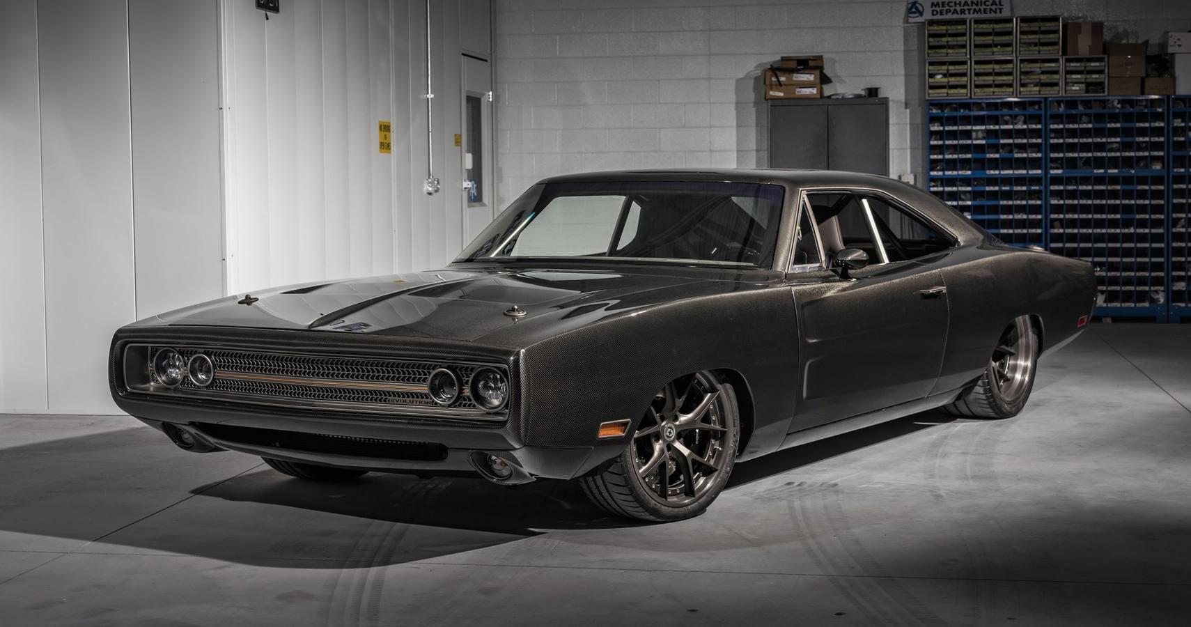 SpeedKore Put A Demon Engine Inside Its Carbon Fiber-Clad 1970 Dodge Charger