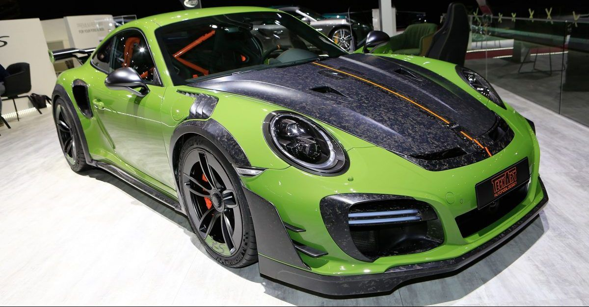 10 Greatest Vehicles By TechArt | HotCars