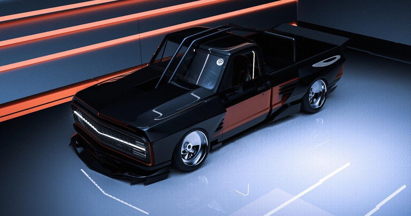Check Out This Chevy C10 That Looks Ready For Drifting | HotCars