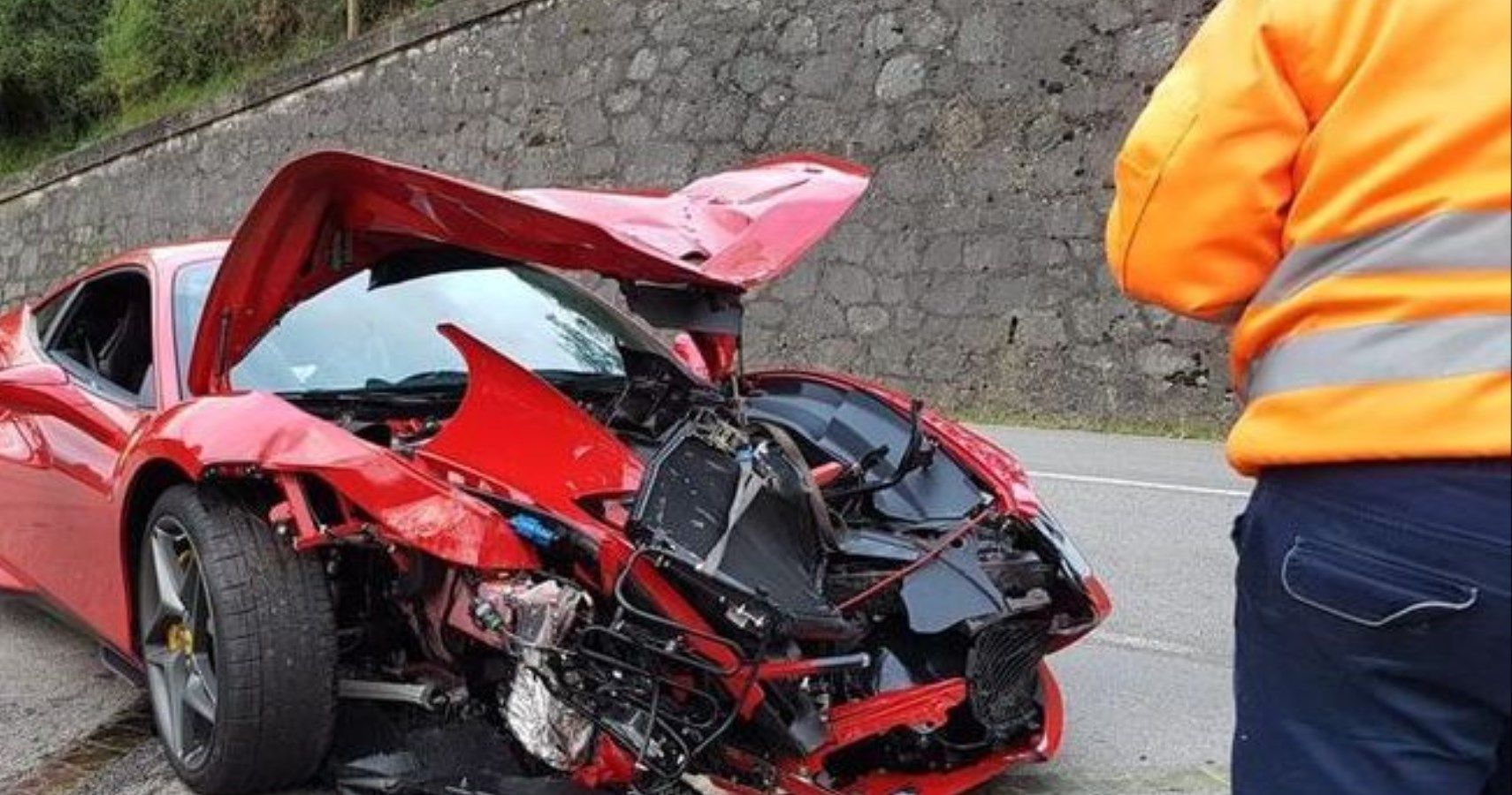 Rally Driver Wrecks Stunning $300,000+ Ferrari F8 Tributo