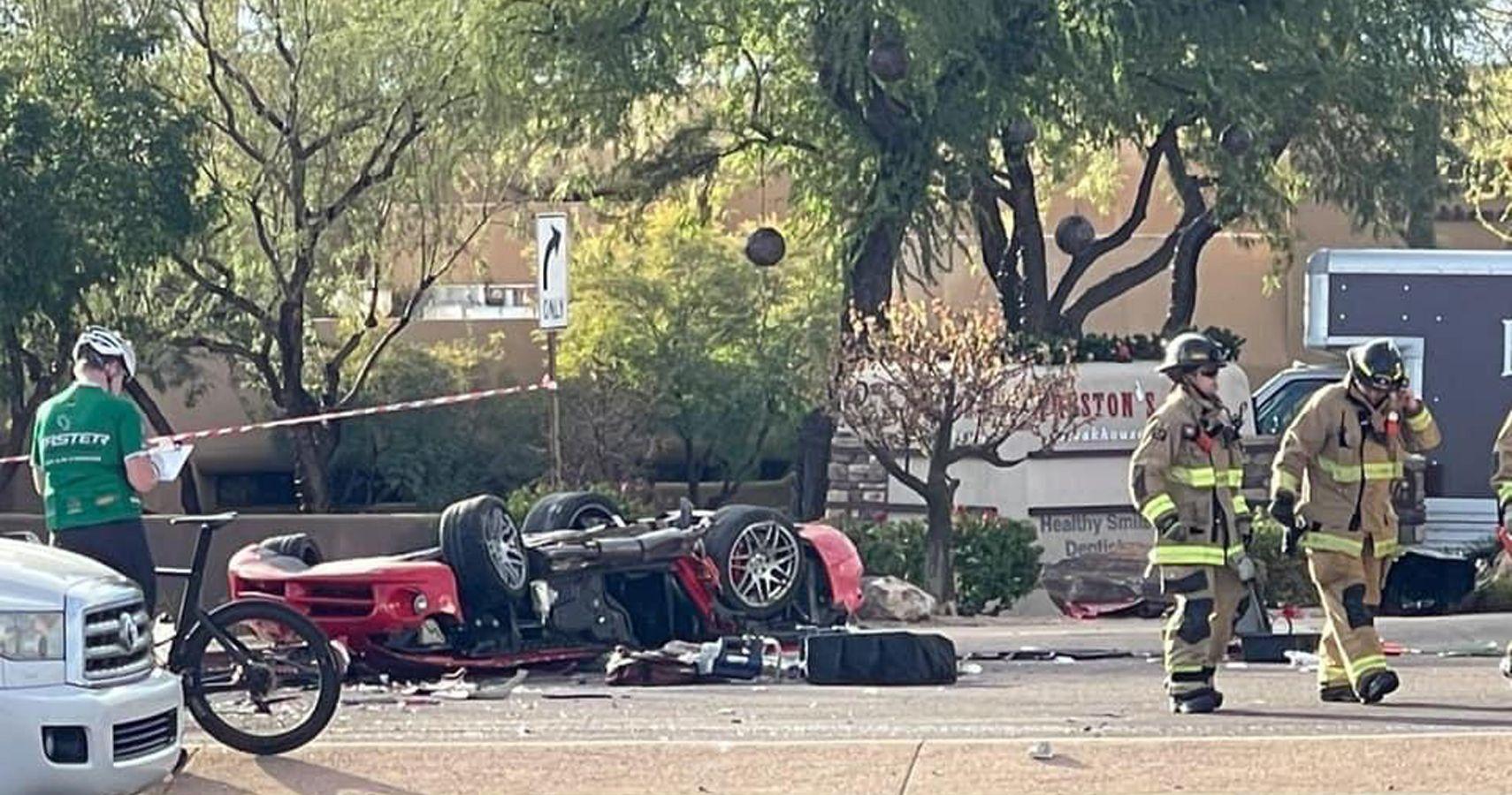 JR Garage Host Injured And Viper Totaled In Fatal Collision