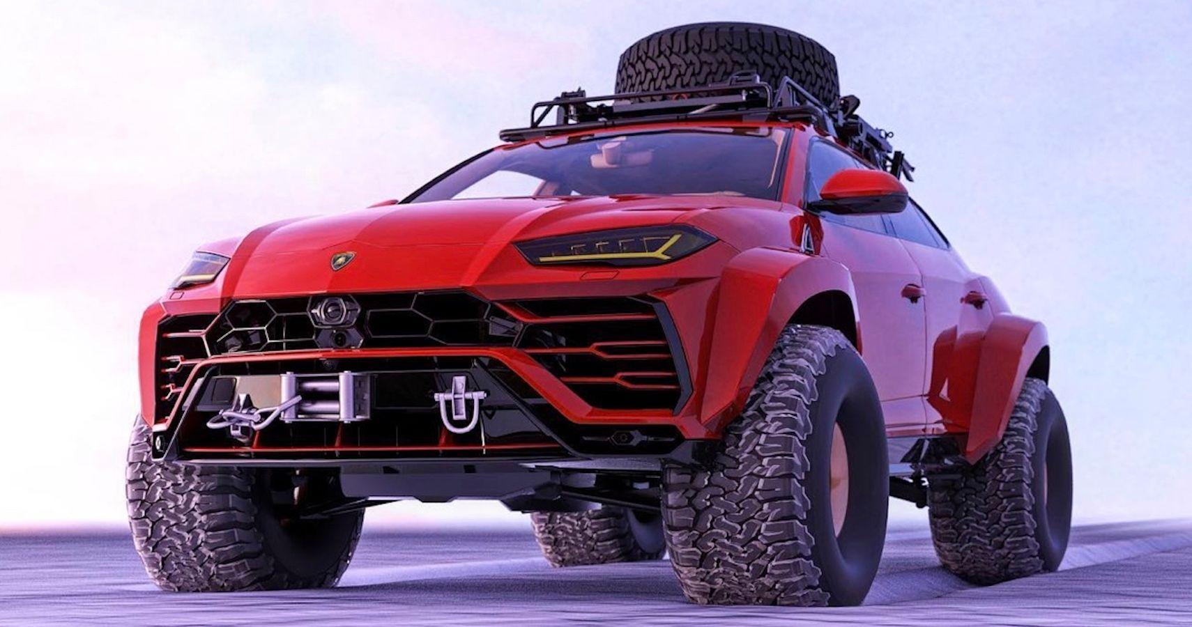 This Arctic Lamborghini Urus Rendering Is Snow-Joke | HotCars