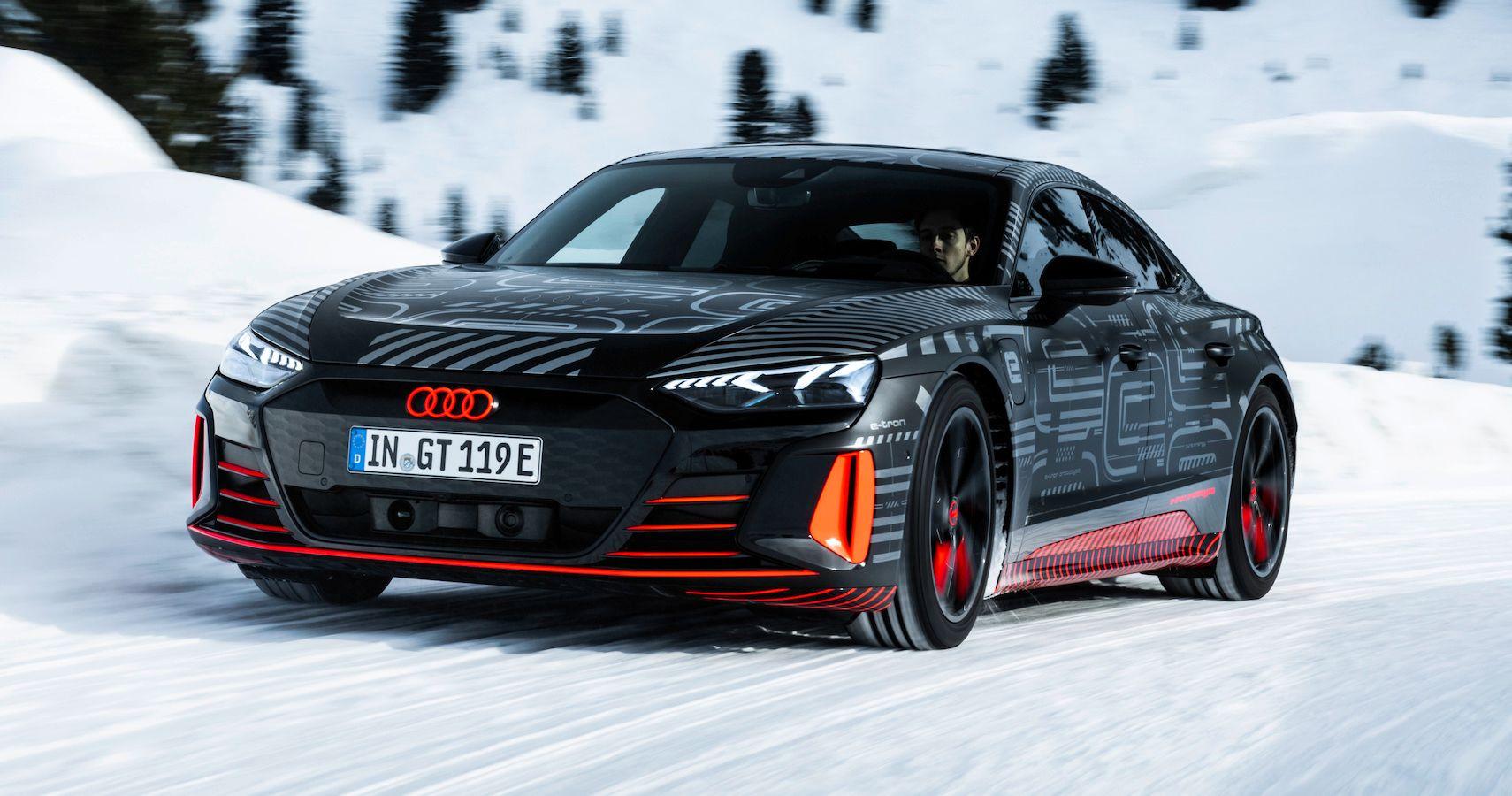 2021 Audi e-Tron GT Designer Teases Further Details Before February 9 World Premiere