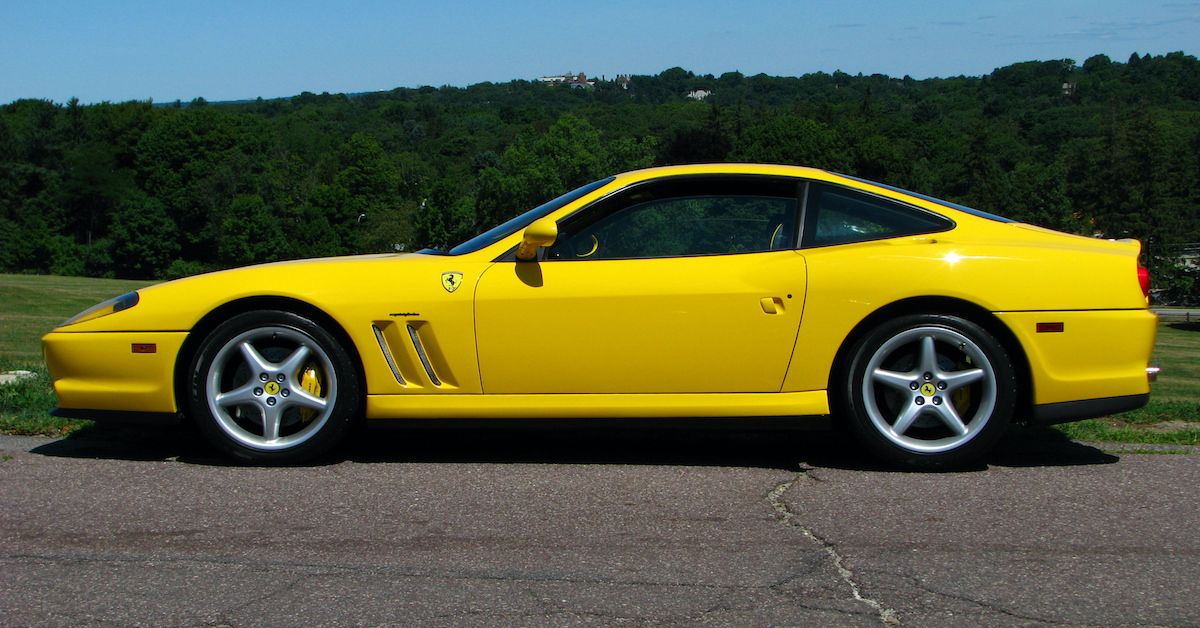 A Detailed Look Back At The Ferrari 550 Maranello | HotCars