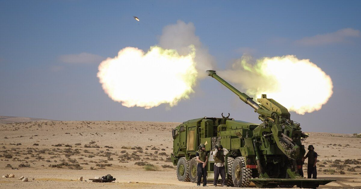 Here's Everything We Know About The New 155mm Wheeled Self-Propelled Howitzer