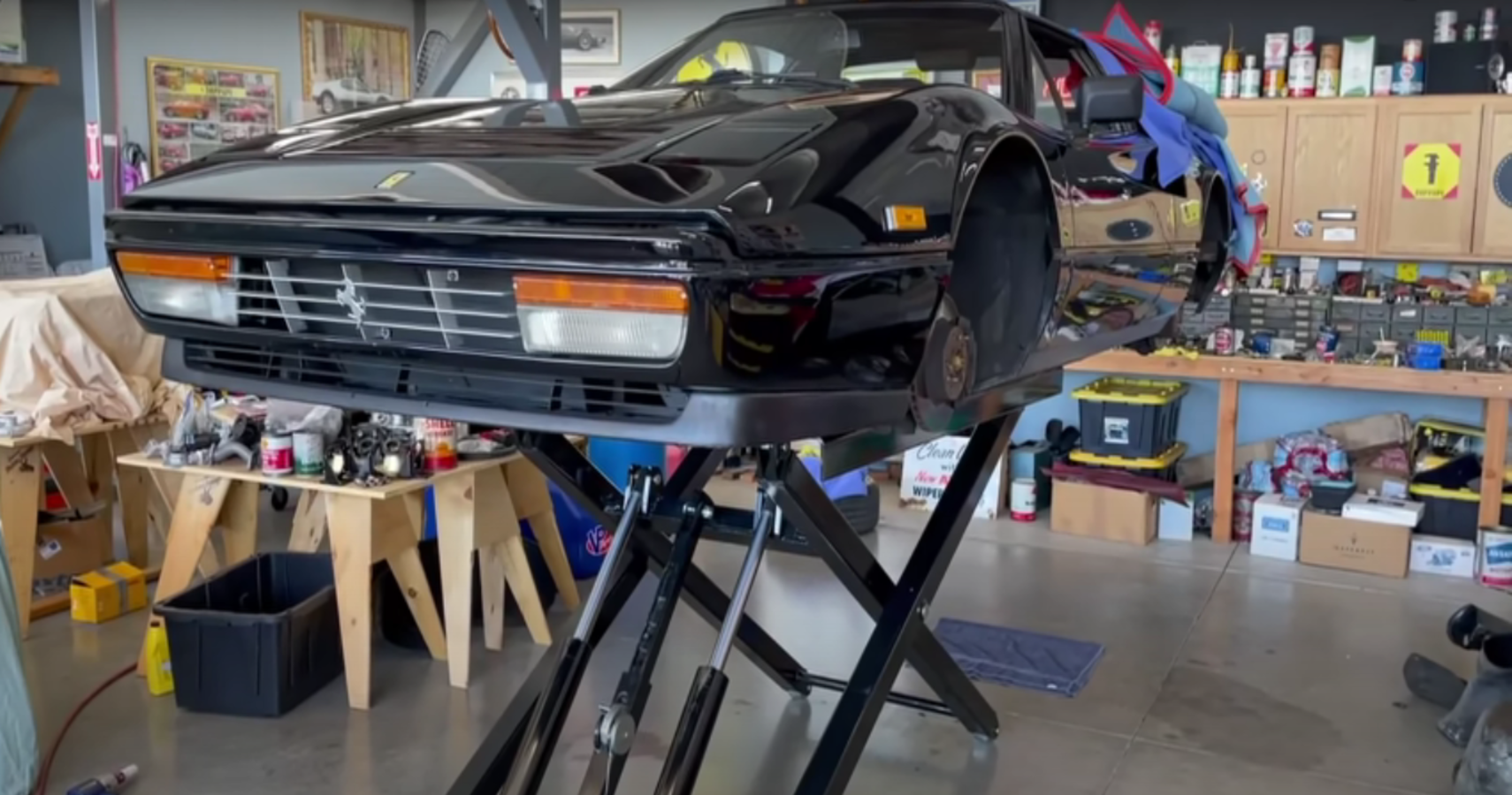 Matt Farah's Ferrari 328 GTS Gets A Very Meticulous Restoration