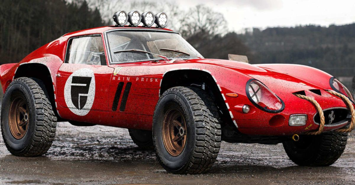 10 Sports Cars Rendered As Off-Roaders | HotCars