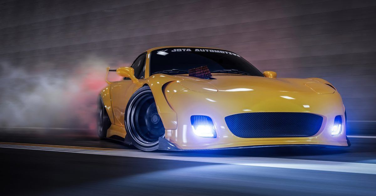 We Can't Stop Staring At These Awesomely Modified Mazda RX7s