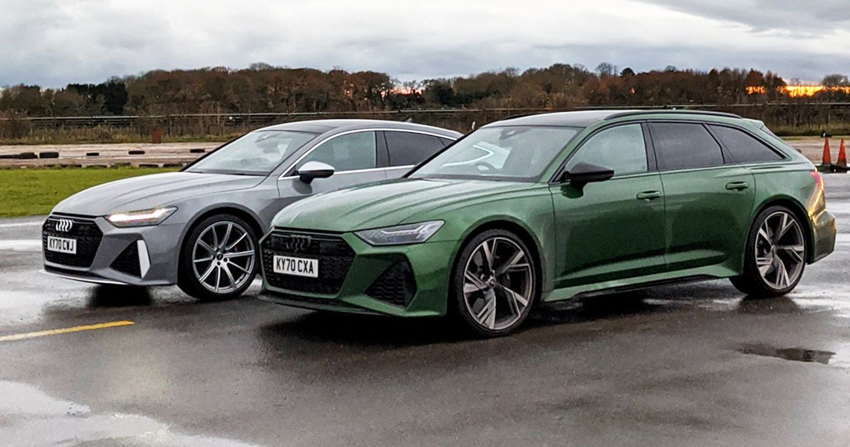RS6 Avant Vs RS7 Sportback: Watch The Nearly Identical Audis Settle Matters With A Drag Race