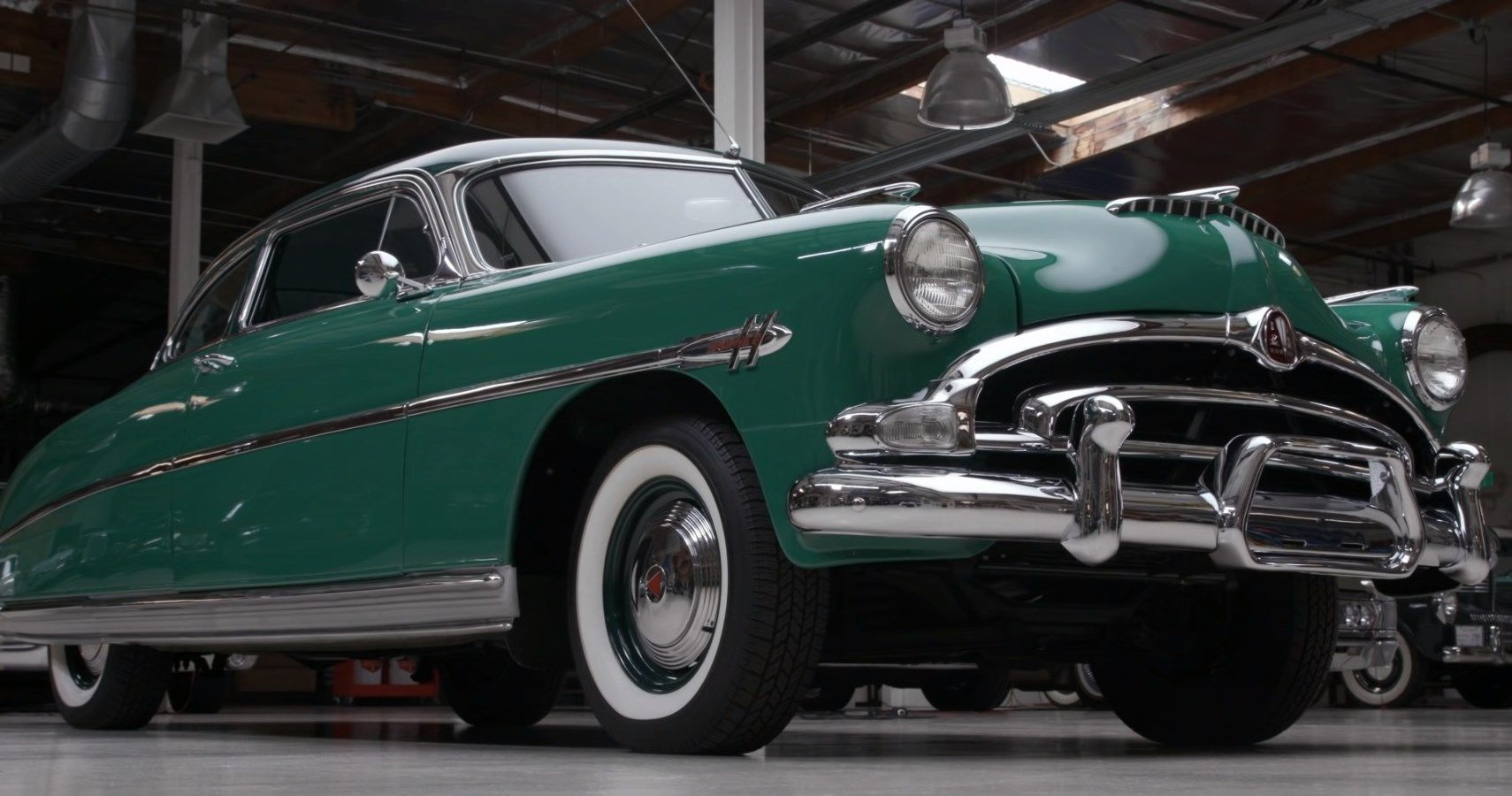 Jay Leno Gives Us A Lockdown Look At The 1953 Hudson Hornet