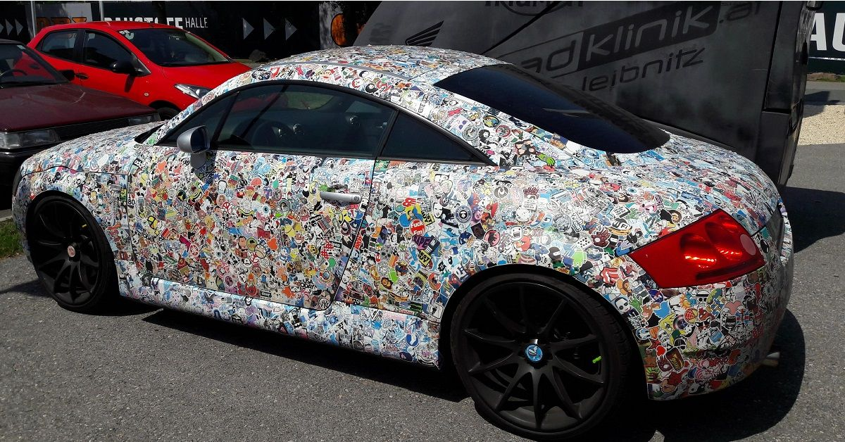 Sticker Bombing A Car Explained And Why We're Glad It's Illegal