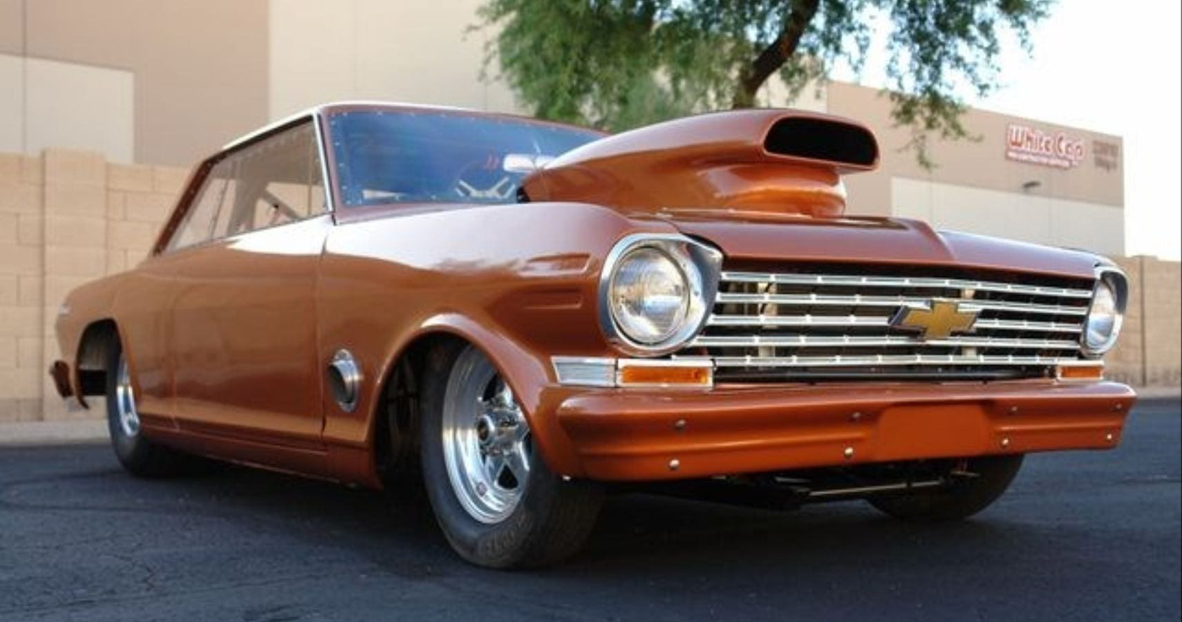 Check Out This Nitrous-Huffing Big-Block Chevy Nova Race Car
