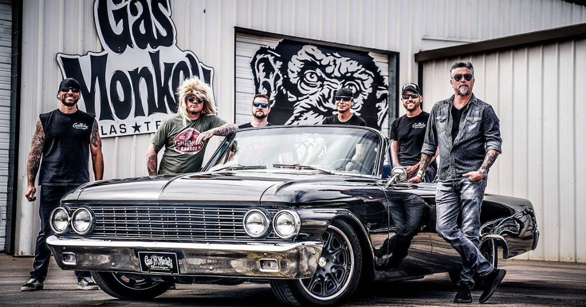 10 Coolest Cars Owned By The Cast Of Fast N' Loud | HotCars