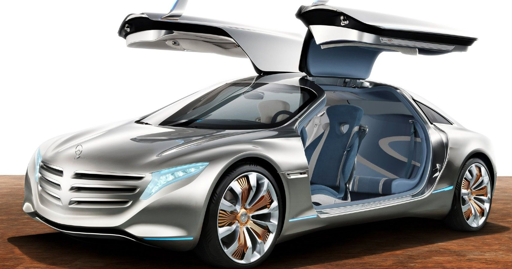 Here's The Coolest Interior Feature Of The Mercedes-Benz F125 Concept Car