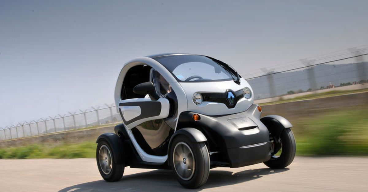 The Twizy: Renault's Smallest Offering   HotCars