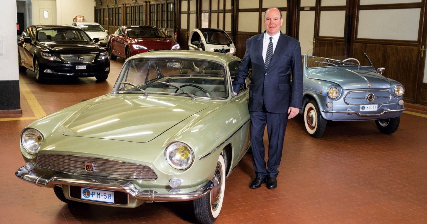 Royal Rides: These Are The Cars That The Prince Of Monaco Owned
