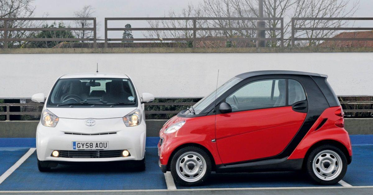 Smart Fortwo W451 VS Scion iQ: Which Is The Better City Car Bargain?