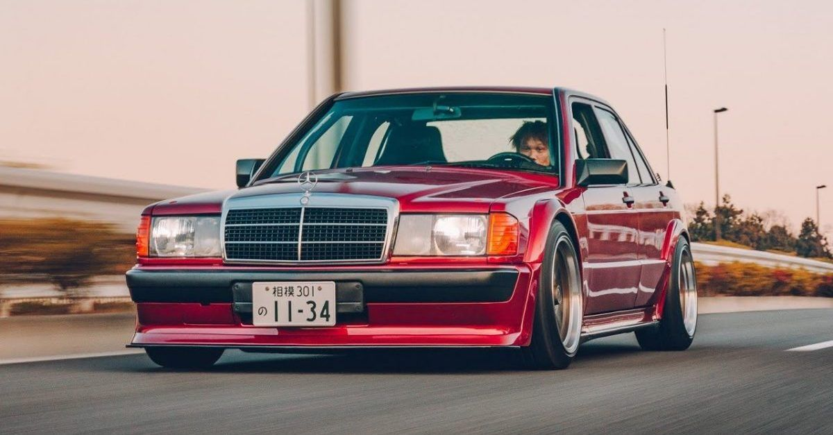 10 Things Everyone Forgot About The Mercedes-Benz 190E Cosworth