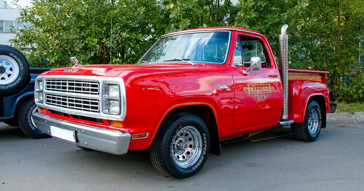Here's How Much A 1978 Dodge Lil' Red Express Truck Costs Today