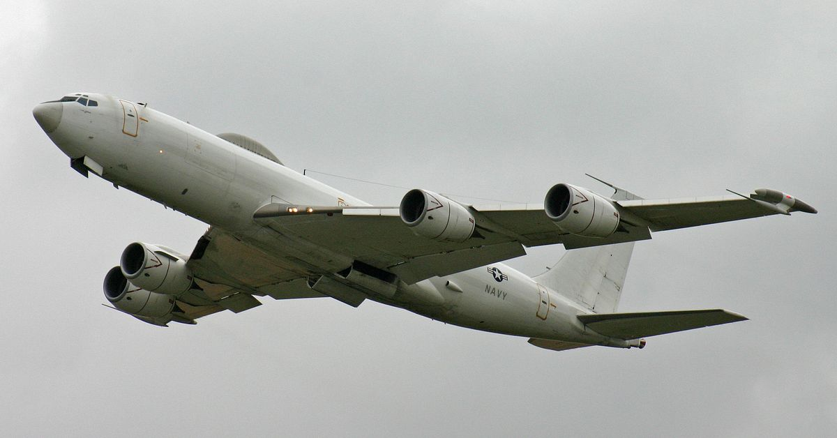 Here's How The Boeing E-6B Is Preparing The US For WW3   HotCars