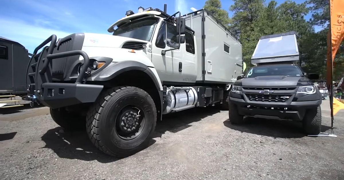 This Custom RV Is The Ultimate Safari Vehicle   HotCars