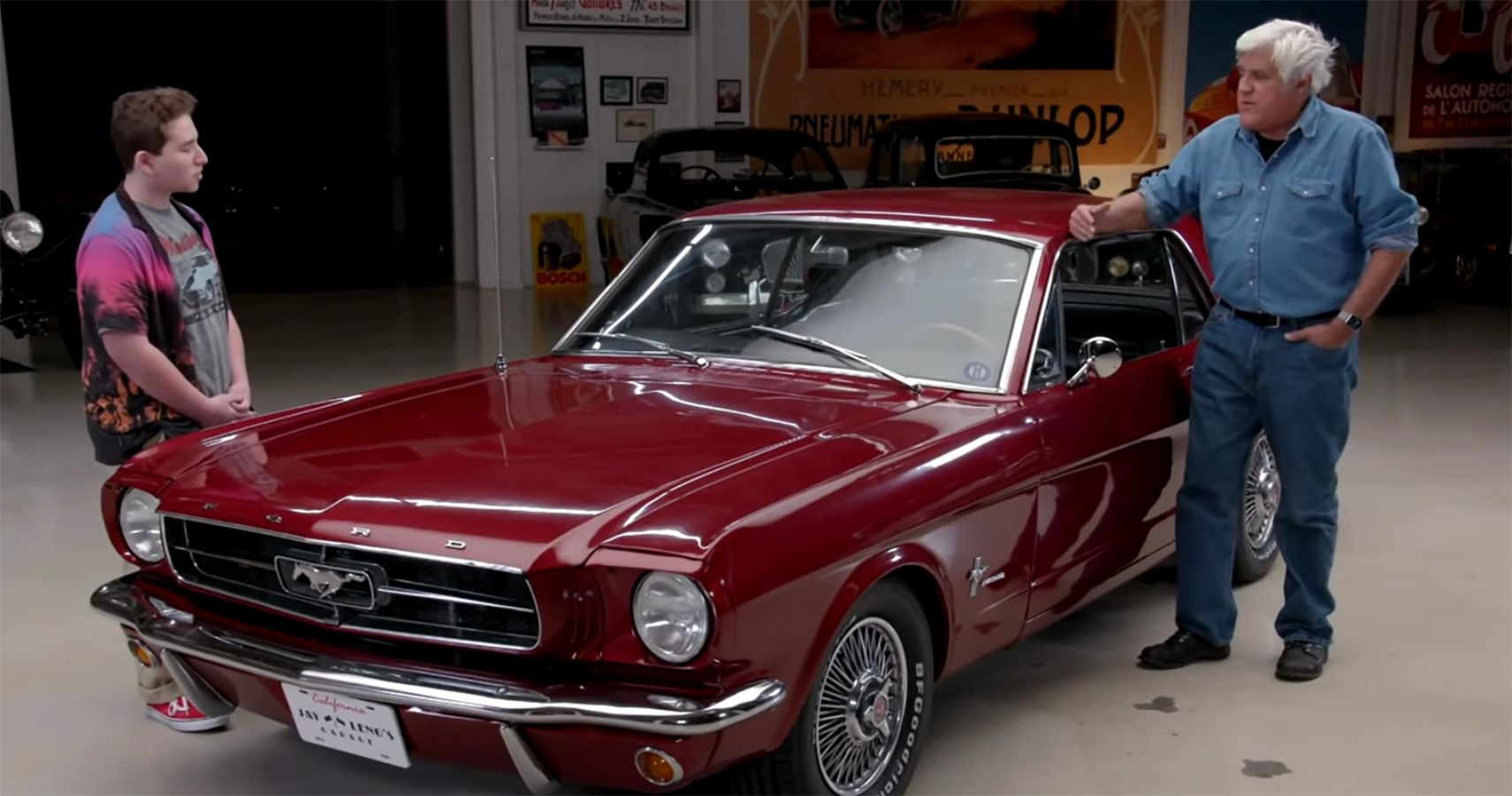 Meet Jack, The 16-Year-Old Classic Mustang Owner Who Caught Jay Leno's Attention