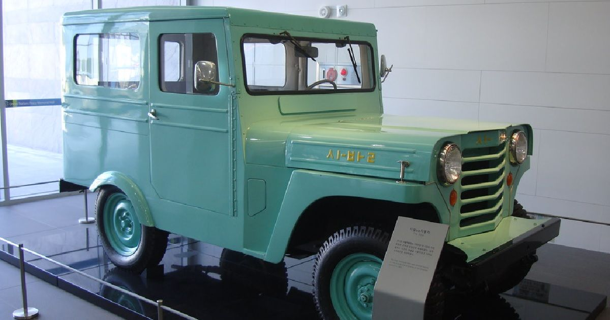 """This South Korean """"Jeep"""" Was The Country's First Production Car"""