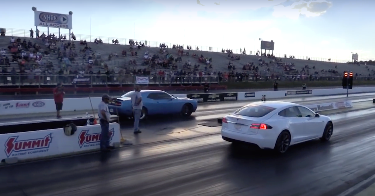 Watch: Tesla Blows Away The Competition In This Drag Racing Compilation