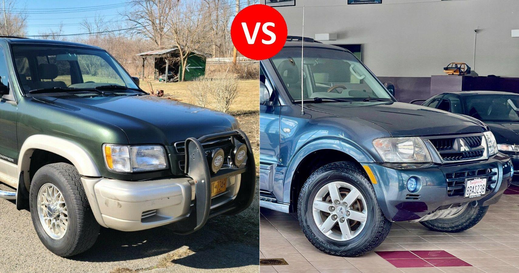 Auction Dilemma: Isuzu Trooper Vs. Mitsubishi Montero | HotCars