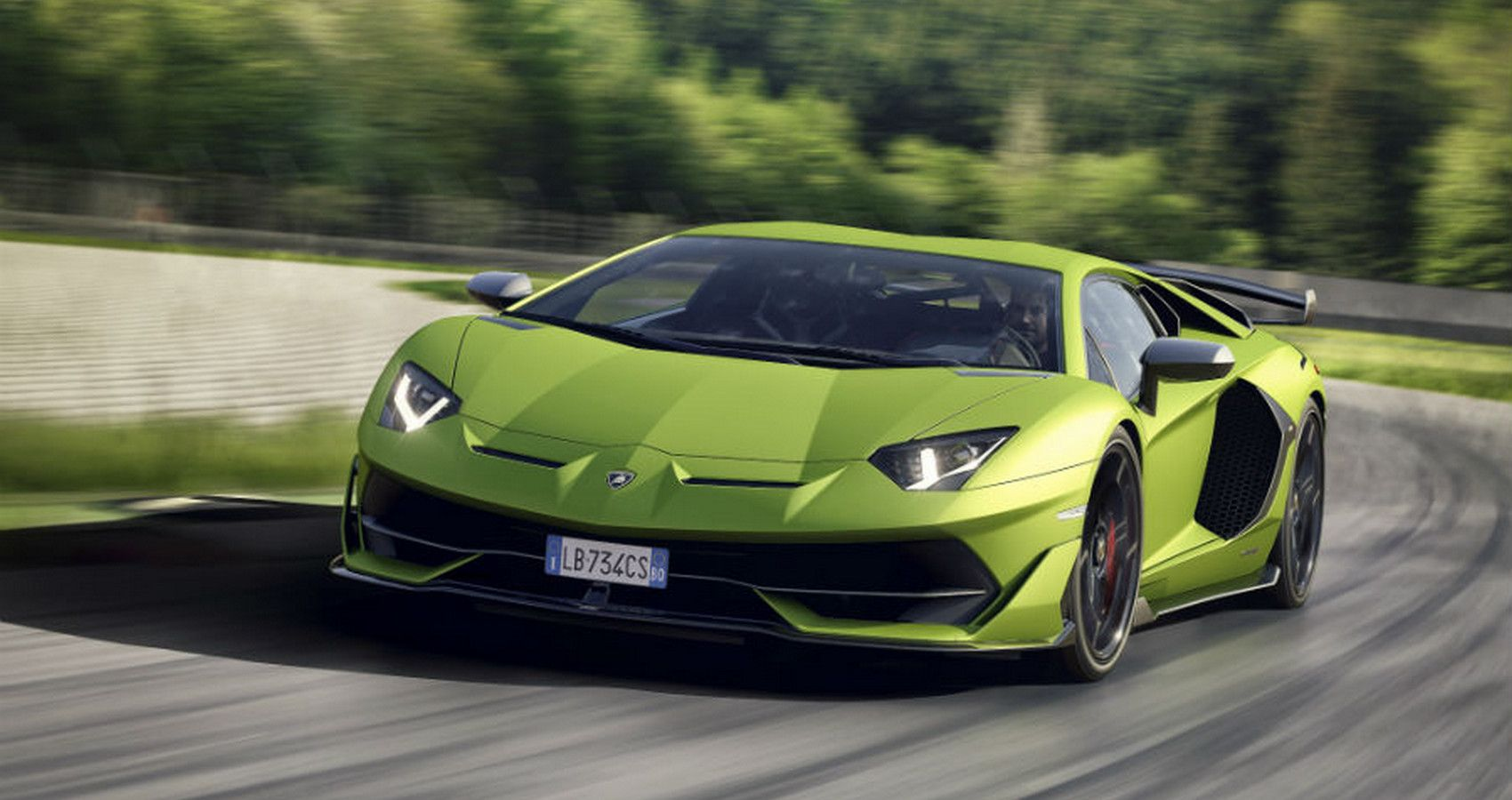 Here's What Makes The Lamborghini Aventador SVJ So Awesome