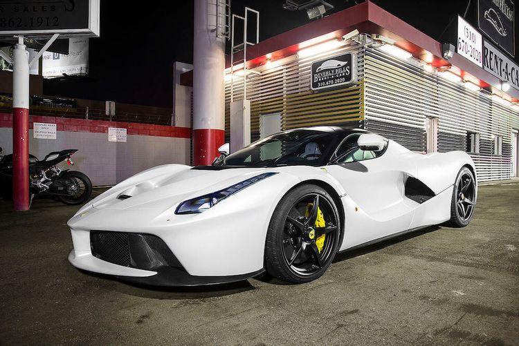 Check Out Dwayne 'The Rock' Johnson's Insane Ferrari LaFerrari