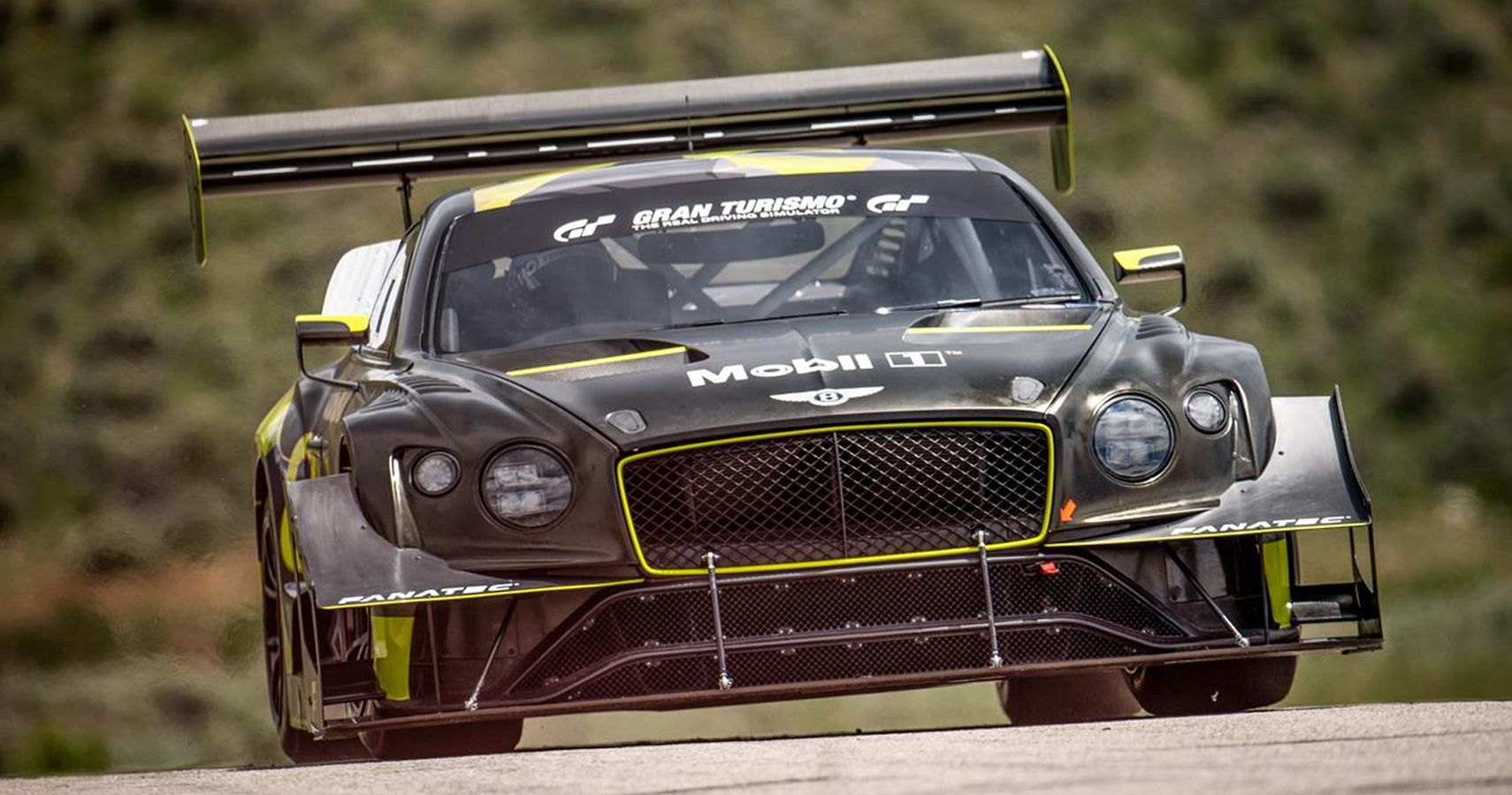 New Bentley Continental GT3 Has Sites Set On Pikes Peak Record