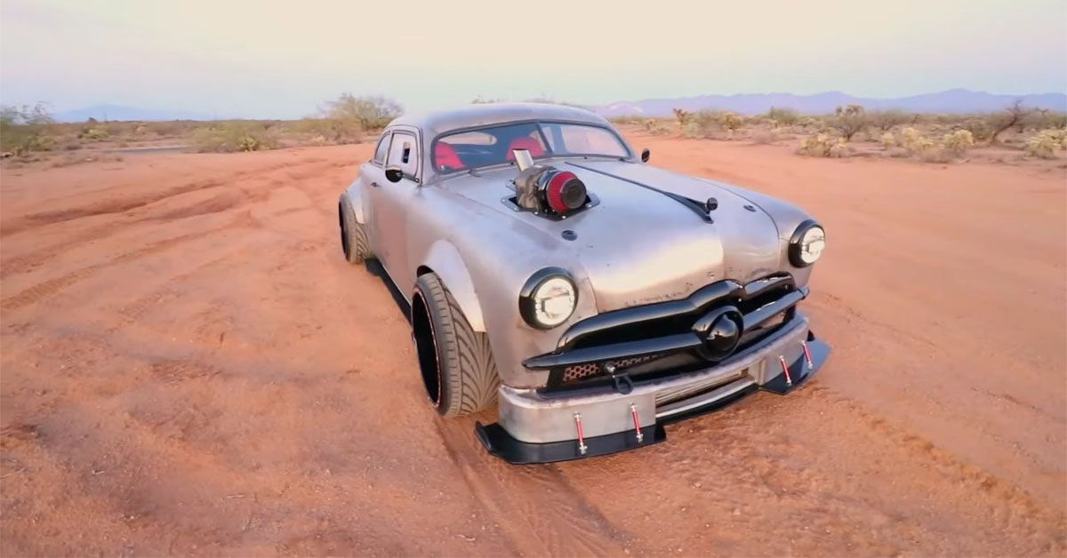 German Engineering Meets Classic American Style In BMW-Powered 1949 Ford